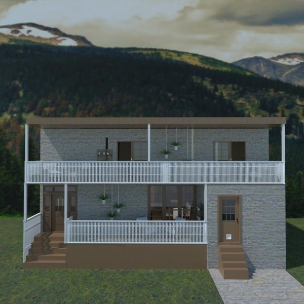 zdjęcia dom taras krajobraz architektura wejście pomysły