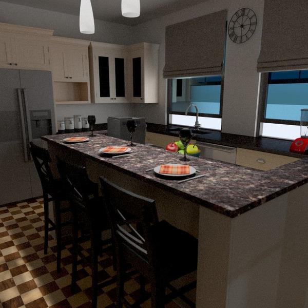 photos appartement décoration cuisine eclairage idées