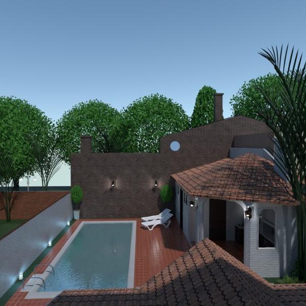 fotos casa área externa reforma arquitetura ideias