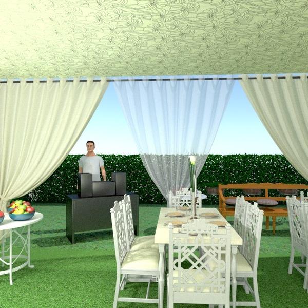 fotos varanda inferior decoração faça você mesmo área externa paisagismo sala de jantar ideias