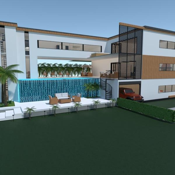 nuotraukos butas terasa eksterjeras kraštovaizdis аrchitektūra idėjos