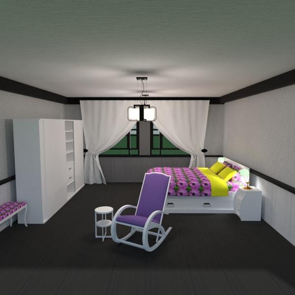 fotos muebles decoración dormitorio iluminación trastero ideas