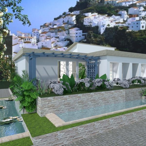 nuotraukos namas terasa dekoras kraštovaizdis аrchitektūra idėjos