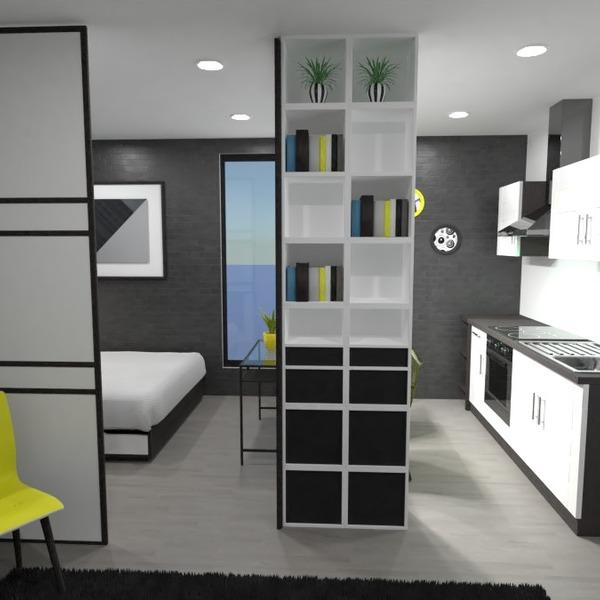 nuotraukos butas baldai miegamasis svetainė virtuvė idėjos