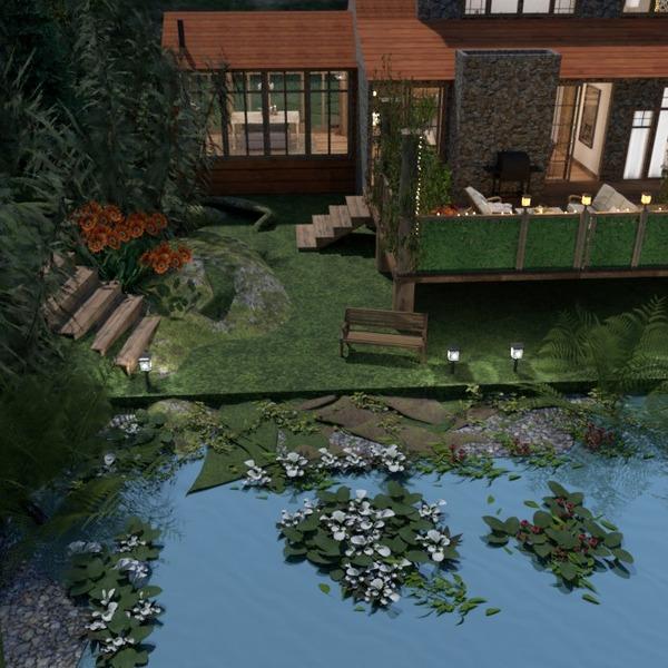 photos house decor outdoor lighting landscape ideas