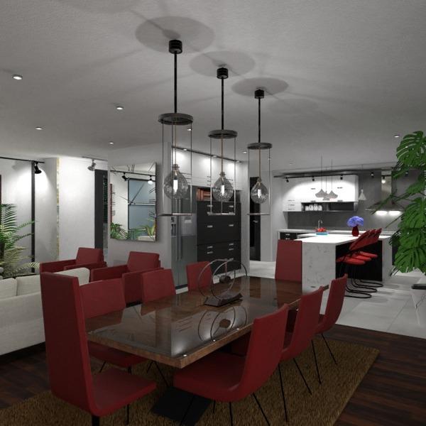 nuotraukos dekoras svetainė virtuvė valgomasis idėjos