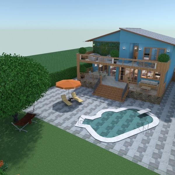 nuotraukos butas namas terasa baldai dekoras eksterjeras apšvietimas аrchitektūra idėjos