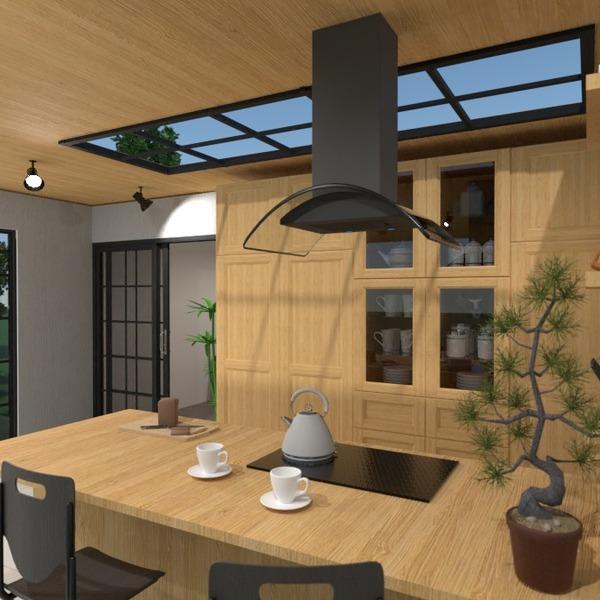 nuotraukos namas baldai virtuvė eksterjeras apšvietimas idėjos