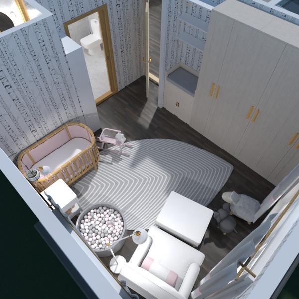 fotos muebles decoración salón habitación infantil ideas