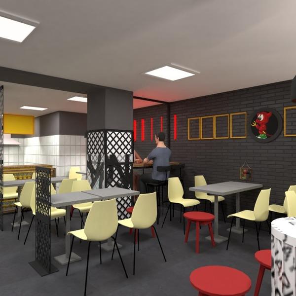 foto studio illuminazione rinnovo caffetteria sala pranzo idee
