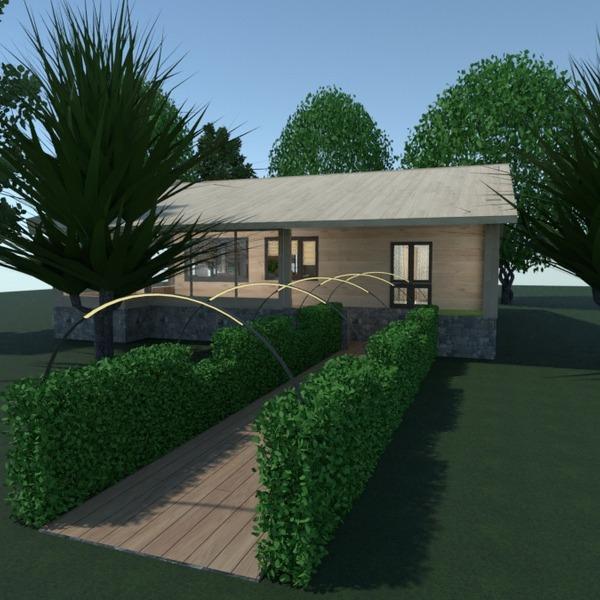 nuotraukos namas terasa eksterjeras prieškambaris idėjos