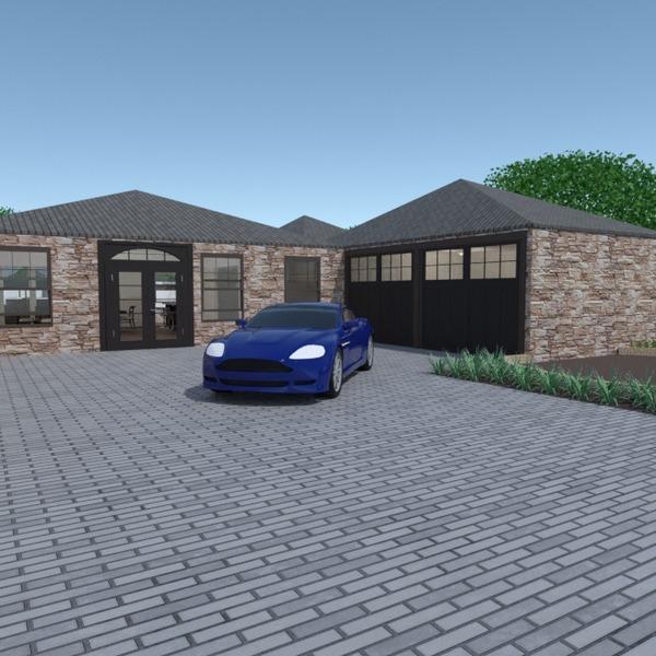photos maison diy garage extérieur paysage architecture idées