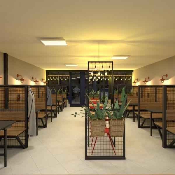 fotos mobílias área externa iluminação reforma cafeterias ideias
