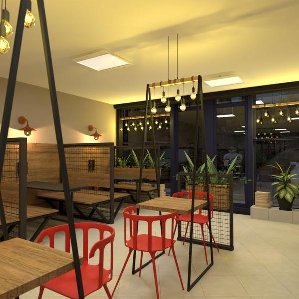 fotos varanda inferior mobílias decoração iluminação cafeterias ideias