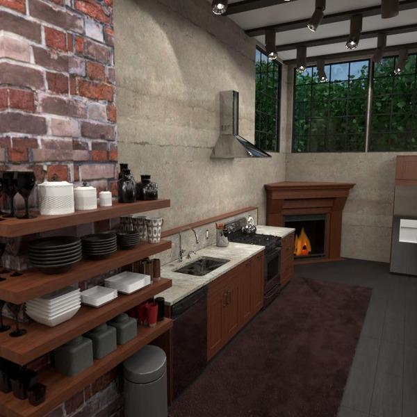 zdjęcia dom kuchnia oświetlenie jadalnia przechowywanie pomysły