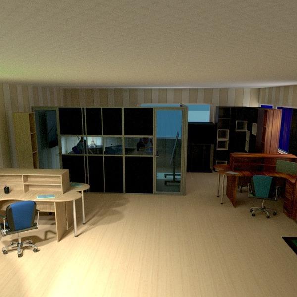 nuotraukos baldai dekoras biuras idėjos