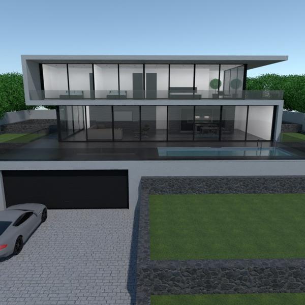 nuotraukos namas terasa garažas аrchitektūra prieškambaris idėjos