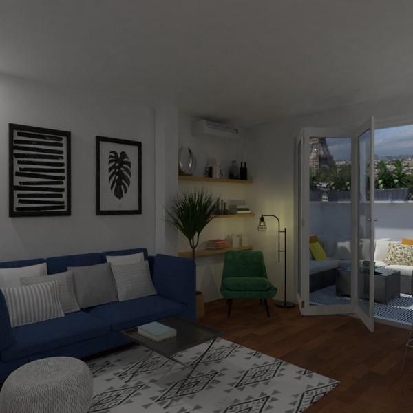 fotos wohnung terrasse mobiliar dekor wohnzimmer ideen