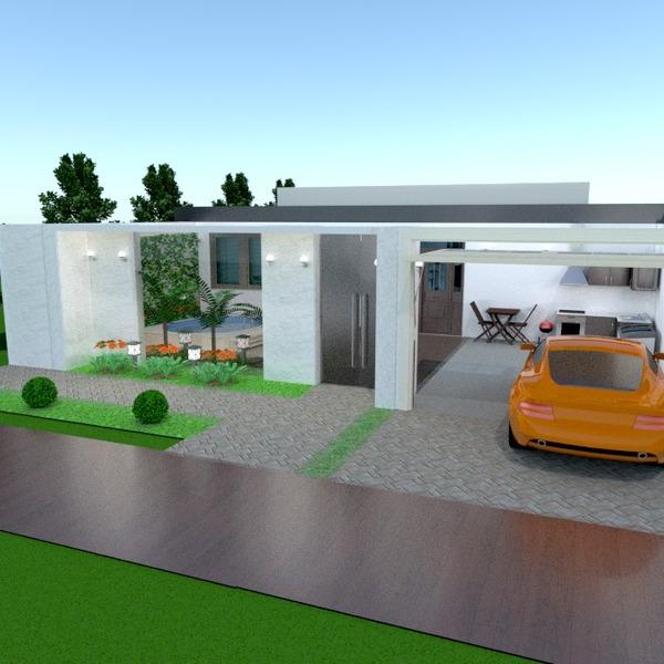 zdjęcia dom taras garaż na zewnątrz krajobraz pomysły