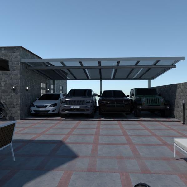 foto garage paesaggio idee