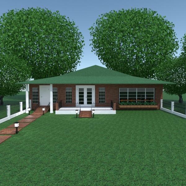 fotos casa terraza exterior iluminación paisaje arquitectura trastero ideas