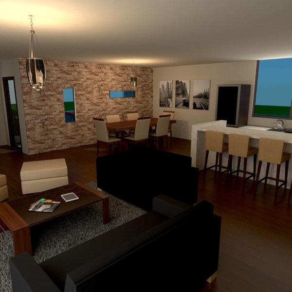 fotos wohnzimmer küche esszimmer eingang ideen
