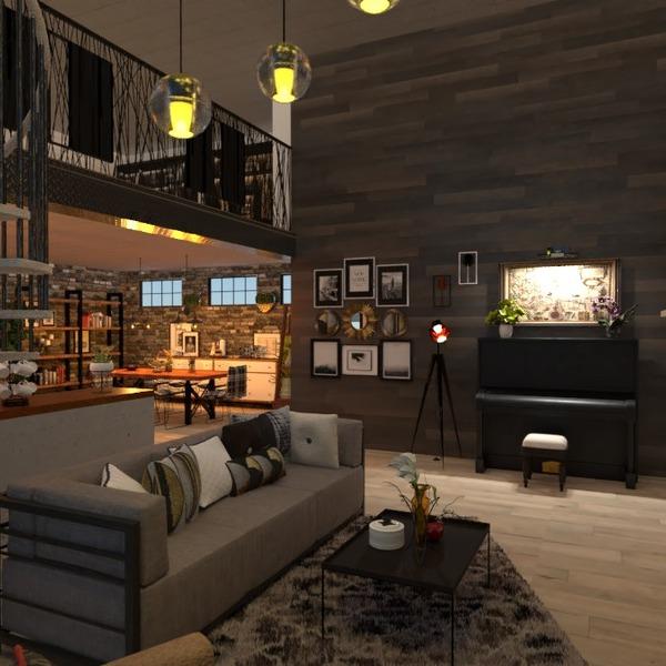 photos appartement meubles salon eclairage entrée idées