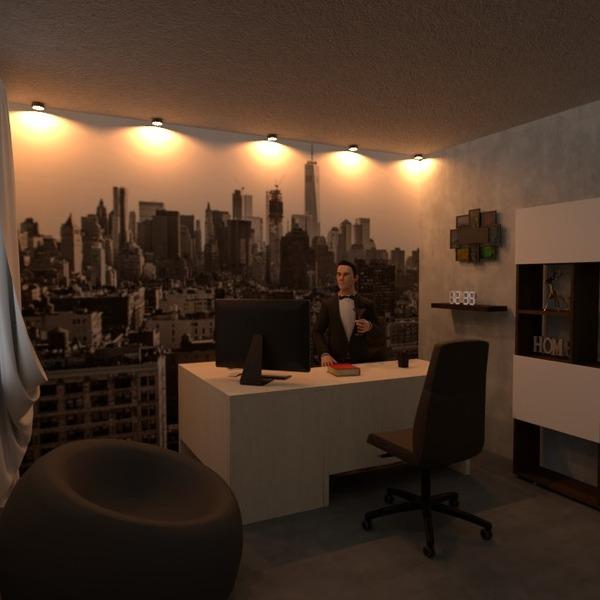 nuotraukos namas dekoras biuras renovacija idėjos