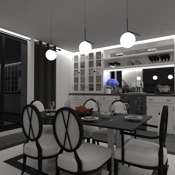 nuotraukos butas baldai apšvietimas valgomasis idėjos
