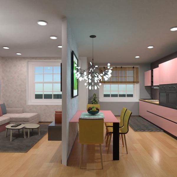 nuotraukos butas svetainė virtuvė valgomasis idėjos