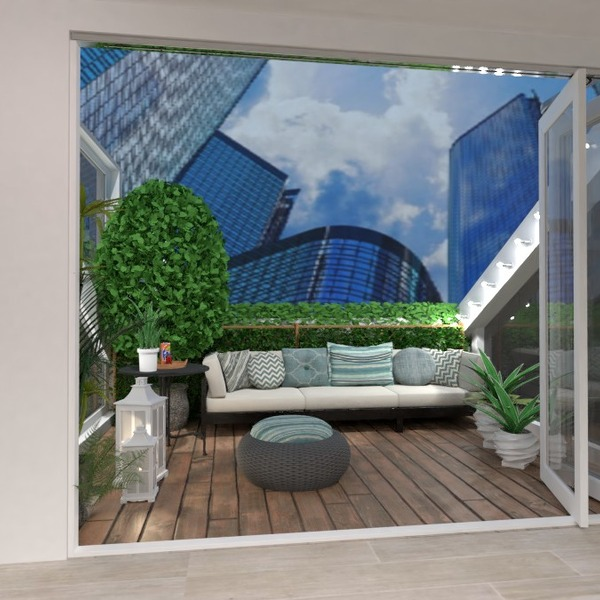 nuotraukos butas terasa baldai idėjos