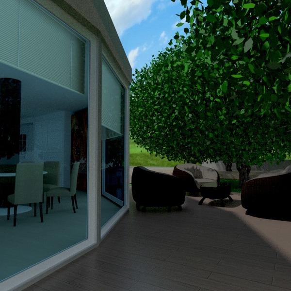 zdjęcia dom taras meble architektura pomysły