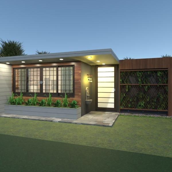 nuotraukos namas terasa dekoras apšvietimas kraštovaizdis idėjos