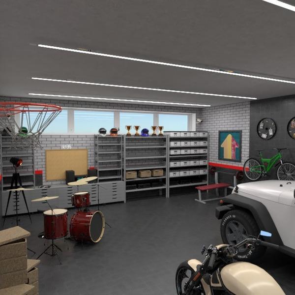 fotos decoração faça você mesmo garagem despensa estúdio ideias
