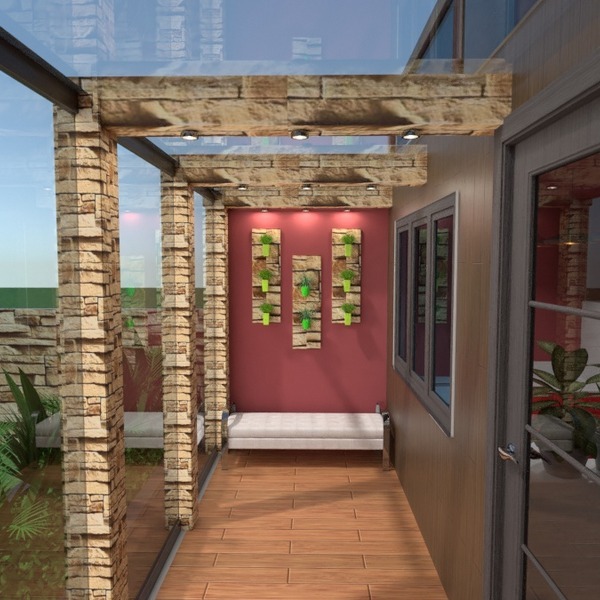 nuotraukos butas namas terasa idėjos