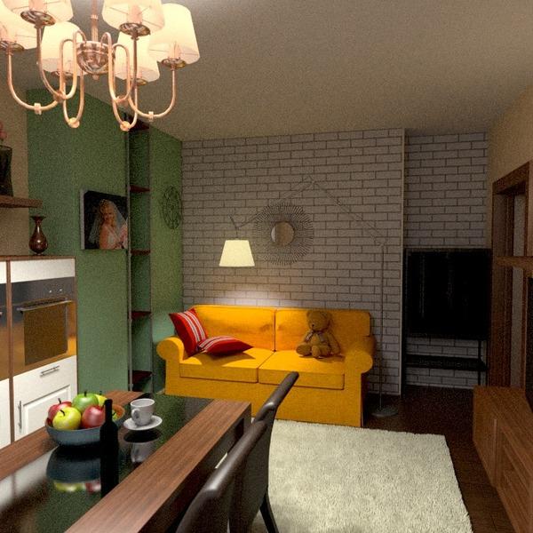 photos appartement salon cuisine idées