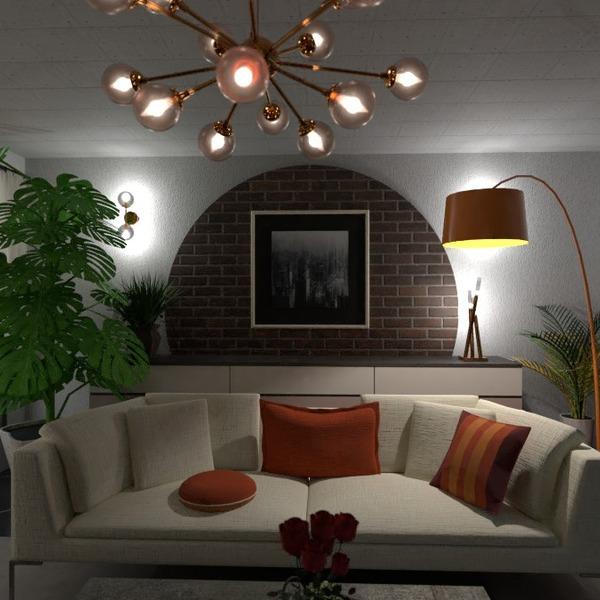 nuotraukos baldai dekoras svetainė apšvietimas idėjos