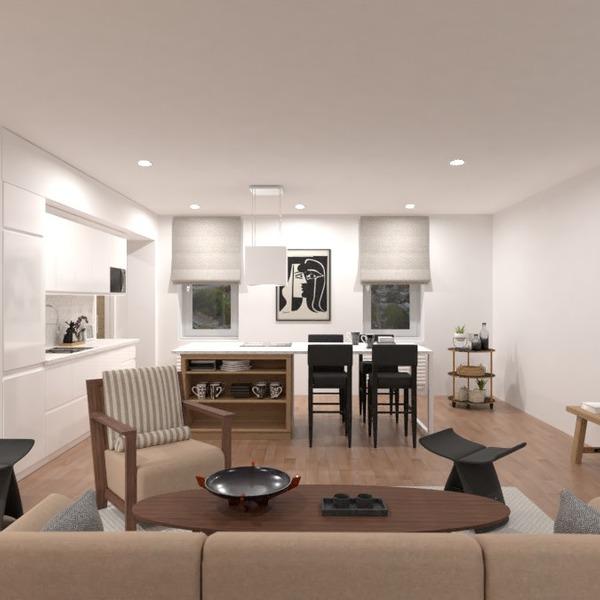 photos appartement meubles décoration salon cuisine idées