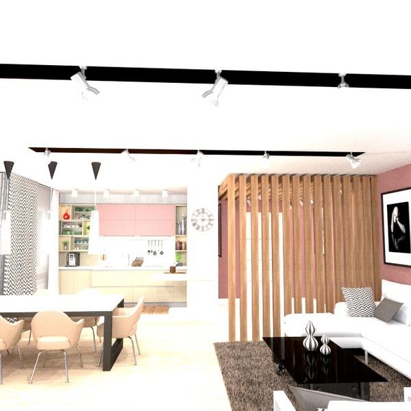 nuotraukos butas baldai svetainė virtuvė apšvietimas valgomasis аrchitektūra idėjos