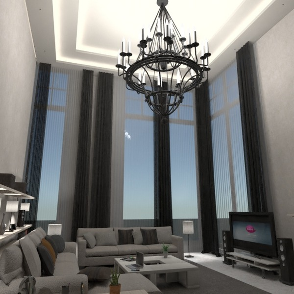 photos maison meubles décoration salon eclairage idées