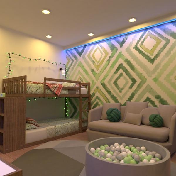 foto appartamento cameretta illuminazione idee