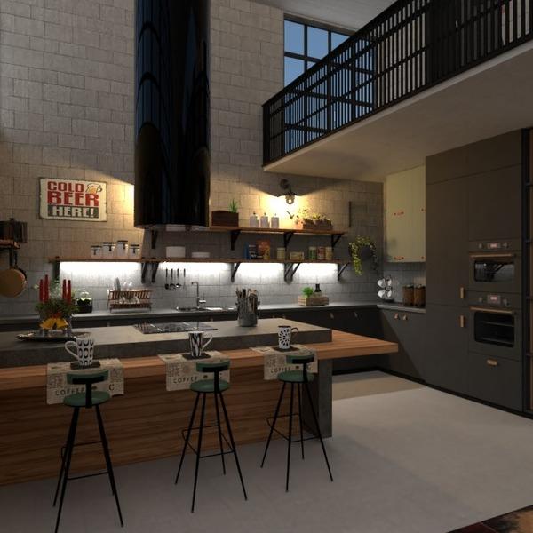 zdjęcia mieszkanie meble kuchnia oświetlenie pomysły