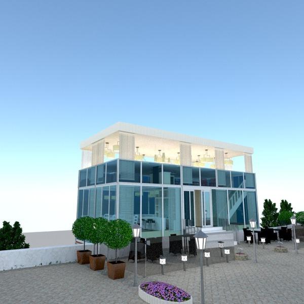 nuotraukos namas terasa eksterjeras apšvietimas renovacija kraštovaizdis kavinė аrchitektūra idėjos