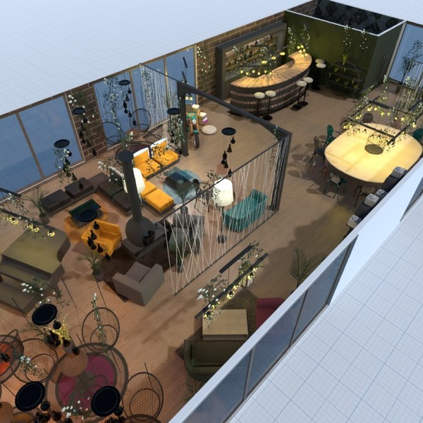 Free 3d Cafe Design Ideas Layout Software By Planner 5d