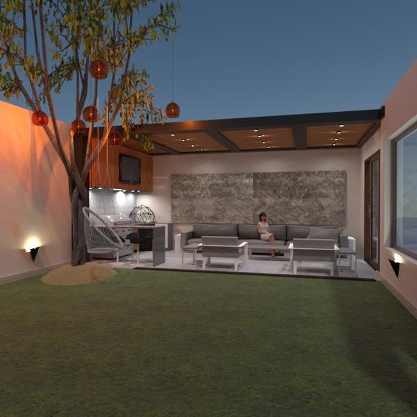 nuotraukos namas terasa virtuvė eksterjeras idėjos