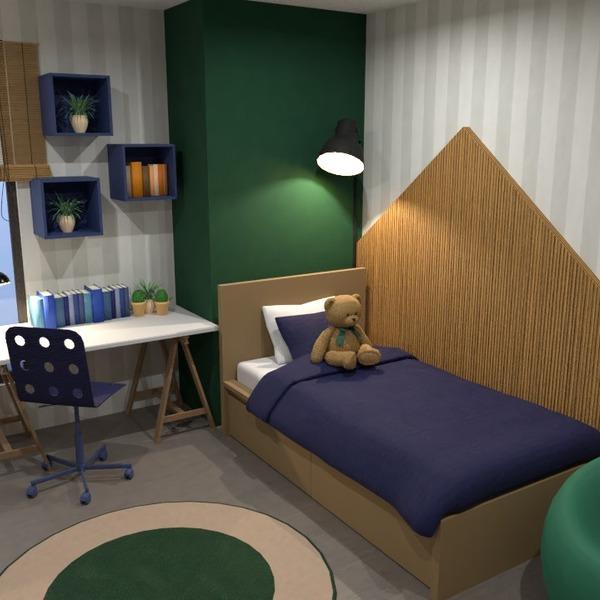 foto casa arredamento camera da letto cameretta illuminazione idee