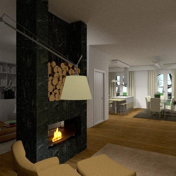 foto appartamento arredamento saggiorno cucina sala pranzo architettura vano scale idee