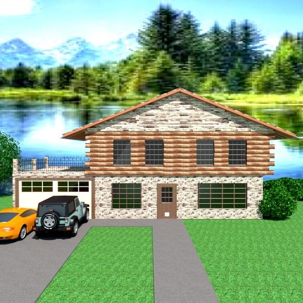 foto casa veranda garage oggetti esterni paesaggio architettura ripostiglio idee