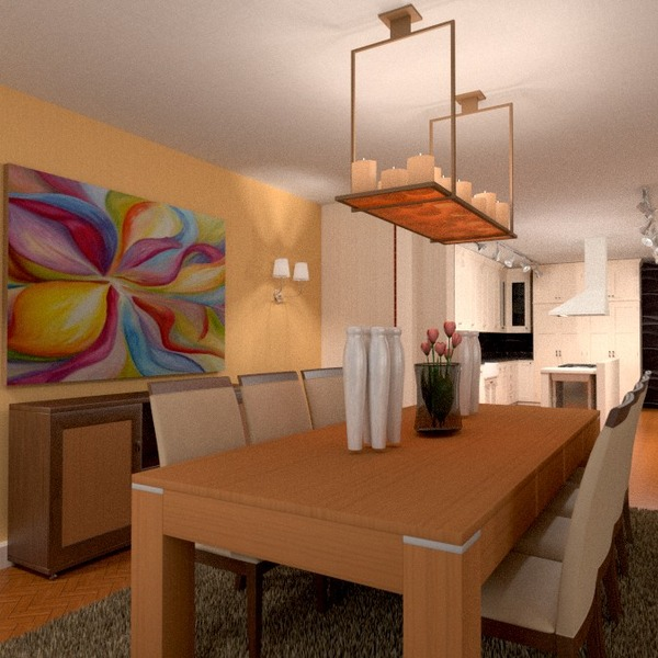 fotos decoração reforma sala de jantar ideias