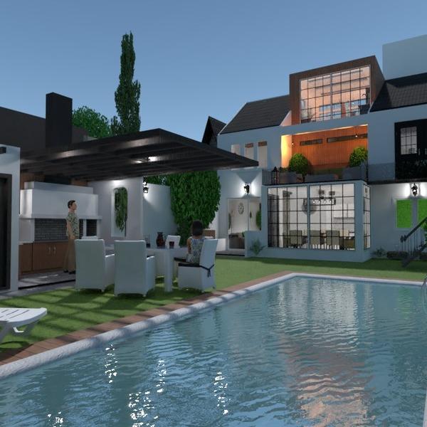 fotos casa área externa paisagismo utensílios domésticos arquitetura ideias